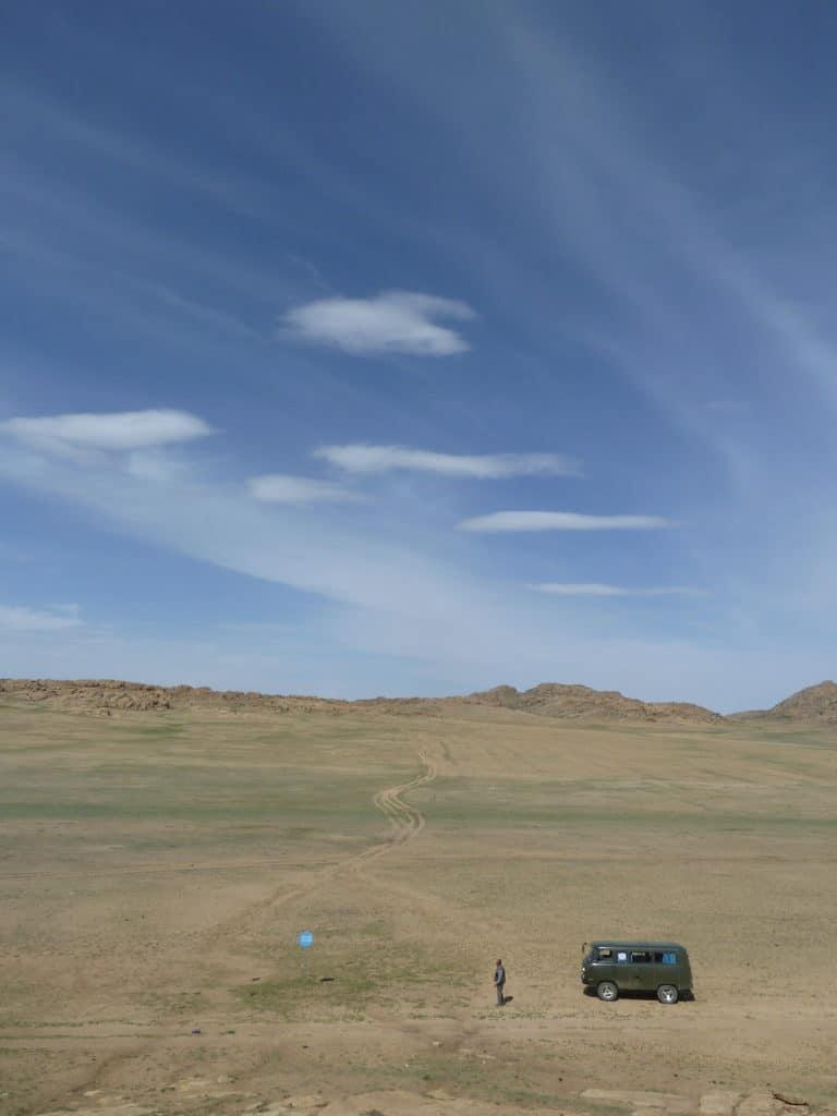 UAZ Mongolie