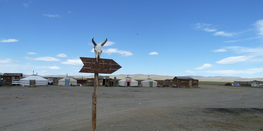 Crossroad mongol, en remontant le pays ...