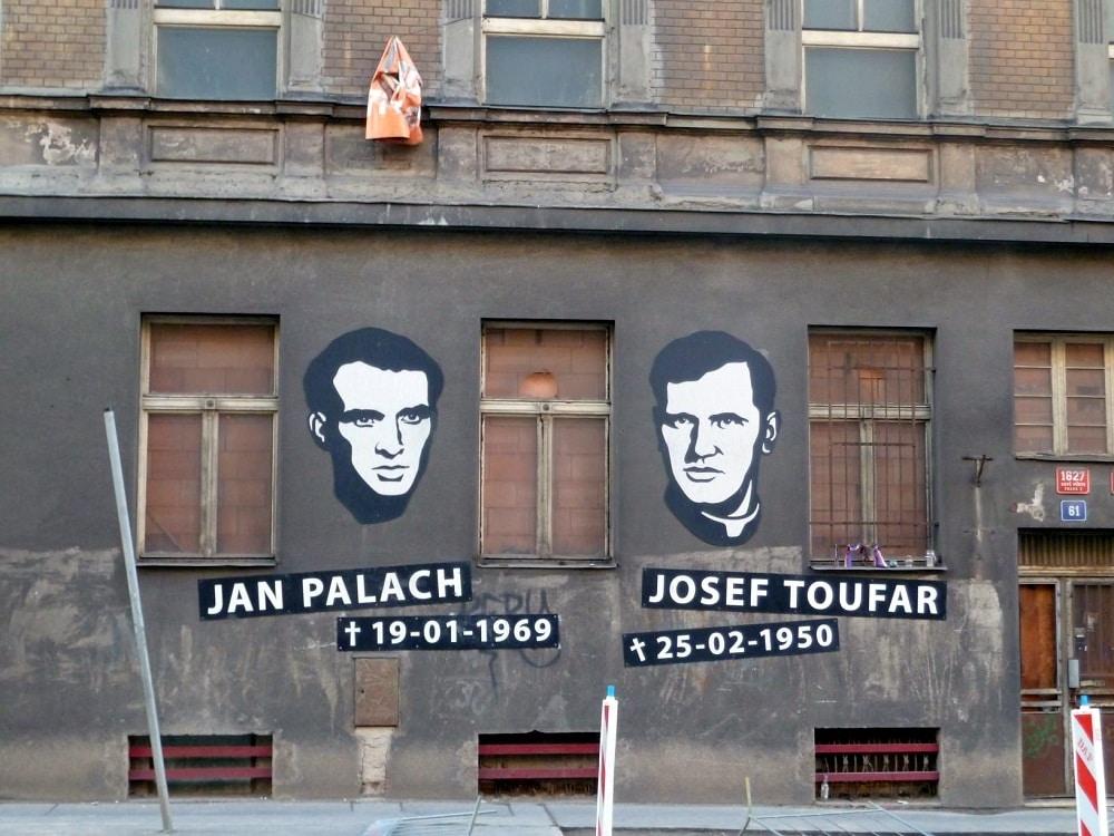 Prague Jan Palach Josef Toufar