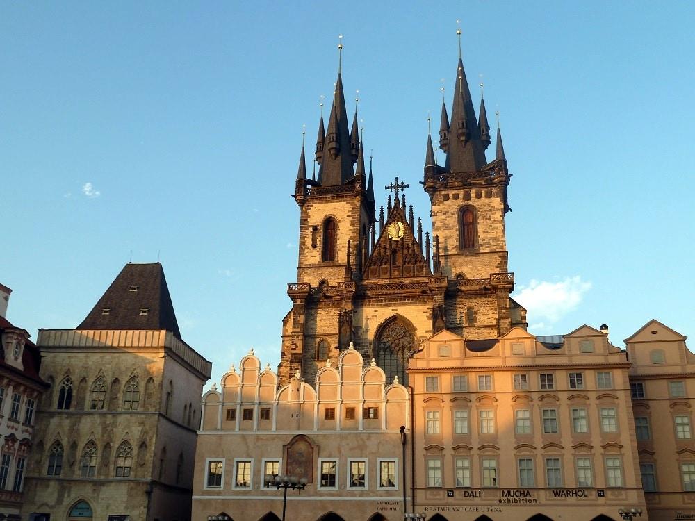 Prague Église de Notre-Dame de Týn