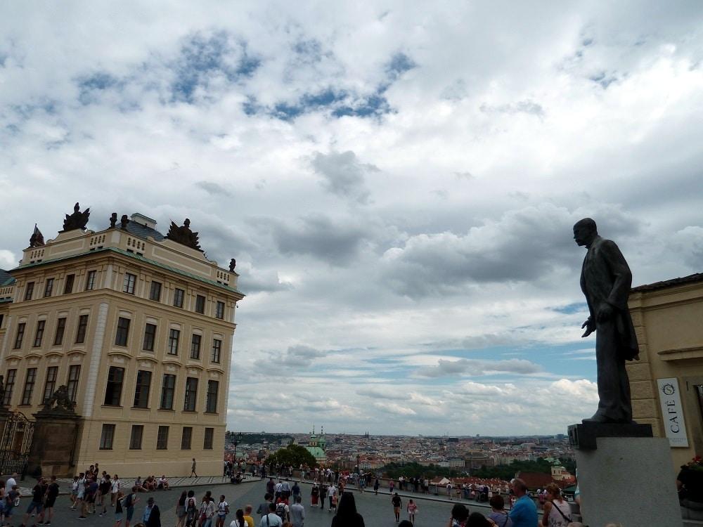 Prague Statue de Tomáš Garrigue Masaryk