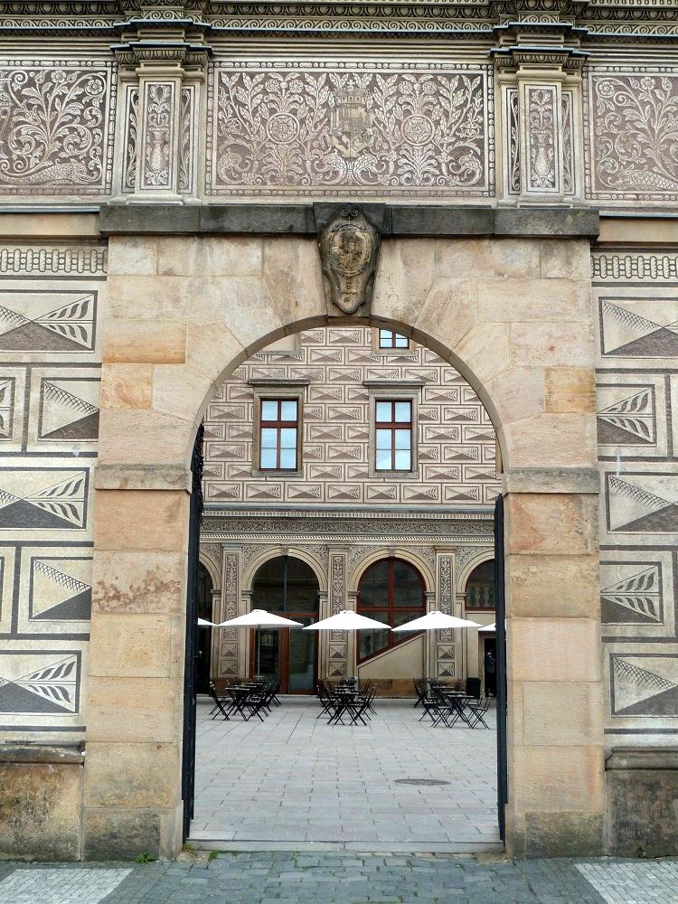 Prague palais Schwarzenberg