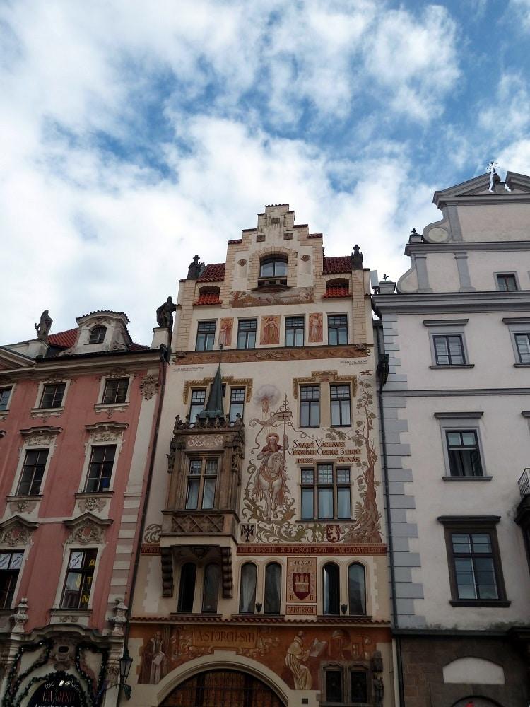 Façade maison Storch de Prague