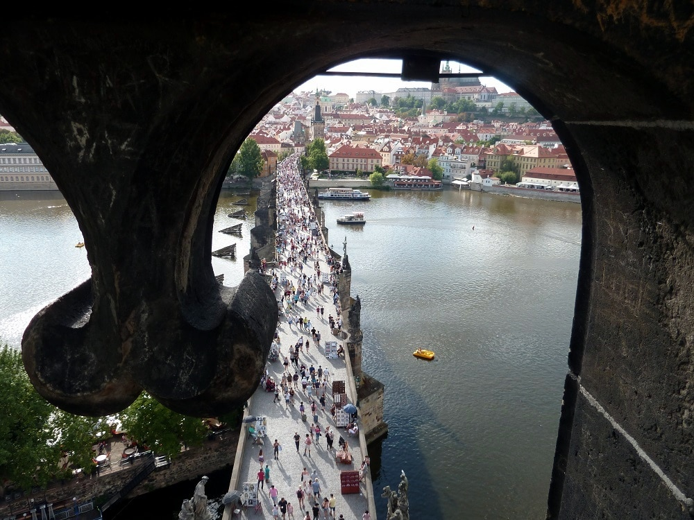 Prague pont Charles Karlův most