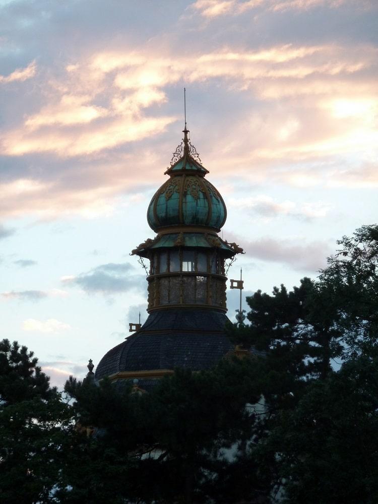 Prague, pavillon Hanavsky